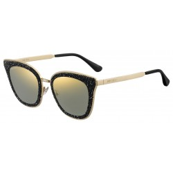 Jimmy Choo LIZZY/S 2M2 BLK GOLD B-BLACK