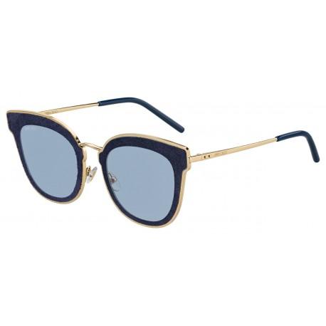 Jimmy Choo NILE/S LKS GOLD BLUE-YELLOW