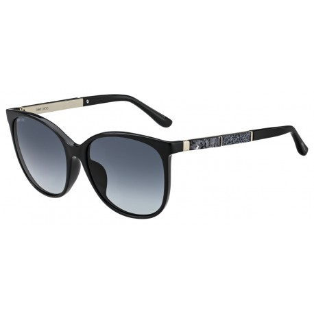 Jimmy Choo CHARLY/S 807 BLACK-BLACK