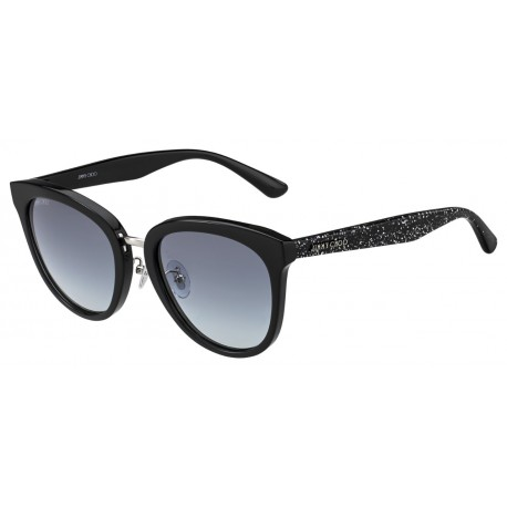 Jimmy Choo CADE/S NS8 BK GLITTR-BLACK
