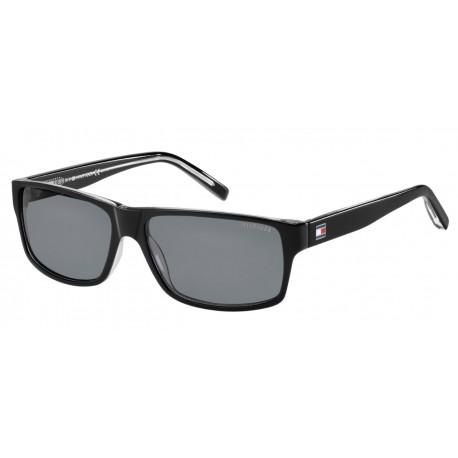 Tommy Hilfiger TH 1042/N/S 7C5 BLACK CRY-BLACK