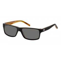 Tommy Hilfiger TH 1042/N/S UNO BKWHTHORN-BLACK