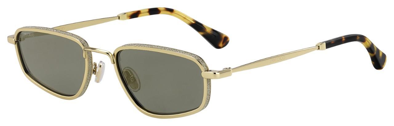 682f54682 Dámske slnečné okuliare Jimmy Choo GAL/S J5G GOLD-YELLOW