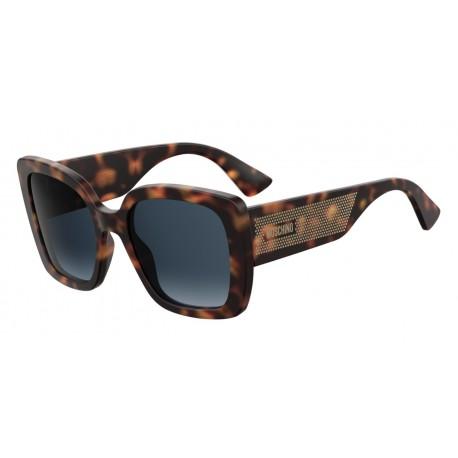 962e45db7 Dámske slnečné okuliare Moschino MOS 016/S 086 DKHAVANA D-HAVANA